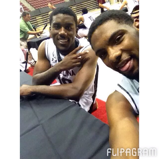 Slideshow: The squad took over the camera for a bit during Media Day! #Gamecocks #flipagram