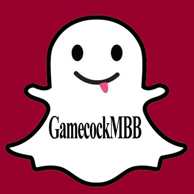 Check us out on Snapchat #Gamecocks